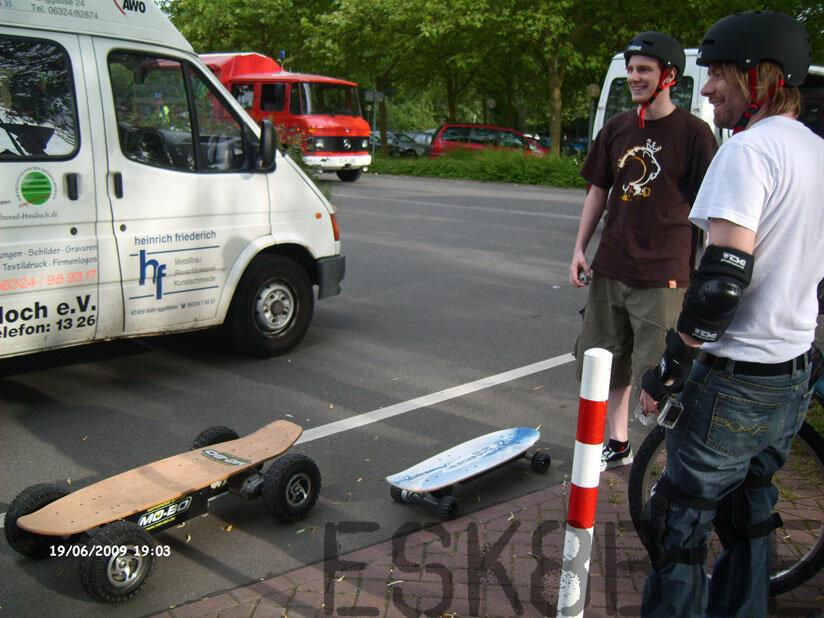 Evolve ONE Elektroskateboard http://www.evolveskateboards.de/