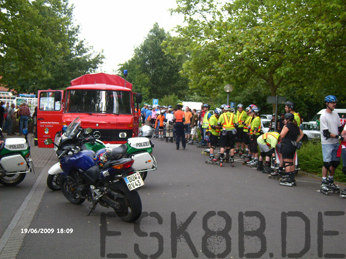 Elektro-Skateboard Radrennbahn Dudenhofen