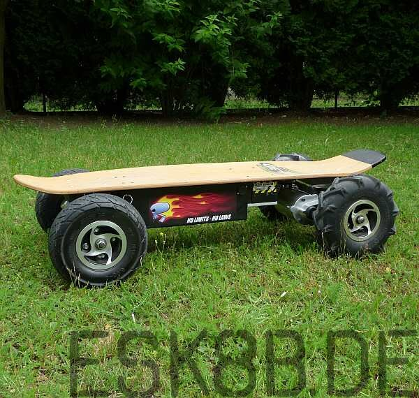 1,500 Watt Electric Skateboard (unlimited)